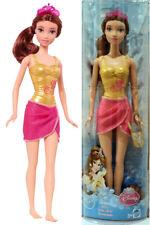DISNEY PRINCIPESSA BELLE balneazione tempo BAMBOLA MATTEL x9390 Princess Bath doll