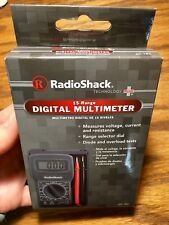 NIB Radio Shack 15-Range Digital Multimeter 22-182 New In Box with 12V battery