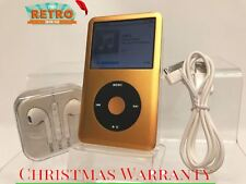New Other - Apple iPod Classic 7th Gen Gold / Black 256GB (was 160GB) + Extras