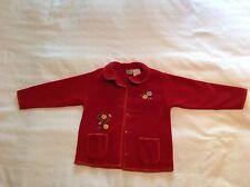 Girls Arizona Red Jacket Size 5T