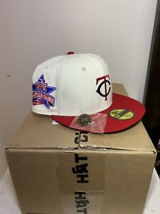 Hat Club Exclusive Minnesota Twins OFF WHITE 7 1/8