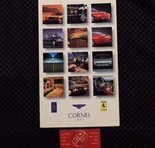 1997 Japanese Ferrari Bentley Rolls Royce Brochure Catalog 550 455 355 Turbo R