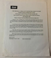 ONE TREE HILL set used 2009 crew distributed PRESS RELEASE
