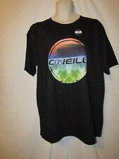 mens O'Neill surfer t-shirt L nwt breezer black