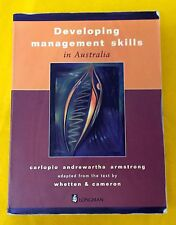 Developing Management Skills in Australia FREE AUS POST used paperback 1997