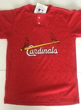 Vintage NWT STL Cardinals Youth XL Swingster Red T Shirt NWT