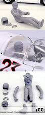 1/12 NINO VACCARELLA SEATED FIGURE f HIRO FERRARI 330P4 SPIDER TARGA FLORIO 1967