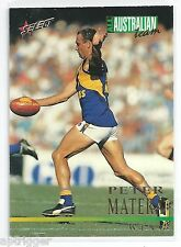 1995 Select All Australian (AA8) Peter MATERA West Coast +++
