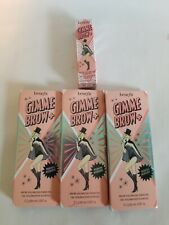 Benefit Cosmetics Gimme Brow+ Volumizing Fiber Gel #3 (Medium) Mini + 3 Samples
