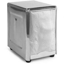 Stainless Steel Spring-Load Low-Fold Short Napkin Dispenser