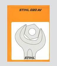 STIHL 020 AV Kettensäge Reparaturanleitung Werkstatthandbuch Original