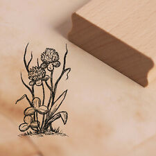 Stempel Holzstempel - Kleeblume Klee - Pflanzen Motivstempel Abdruck 28x48mm ❤️
