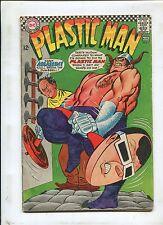 Plastic Man #5 ~ Easy Assassin! You'll Break The Dumbbell! ~ 1967 (Grade 4.0)WH
