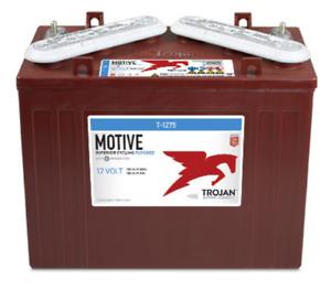 Trojan T-1275 12 Volt Golf Cart Battery RV Marine Solar Deep Cycle