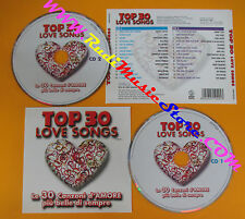 CD Compilation Top 30 Love Songs TOTO 10CC PLATTERS VANDROSS PROMO no lp mc(C37)