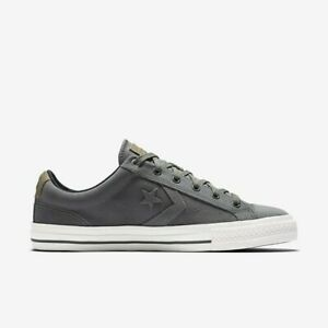 Converse Unisex Star Player Suede OX 153740C Sneakers Charcoal Grey