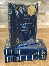 The Law Of Success (From The 1925 Manuscript Lessons) Napoleon Hill H/Cover