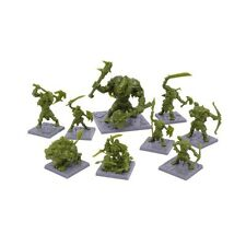 Mantic Games Nuevo Y En Caja Mazmorras Saga: Green Miniaturas Rage Set MGDs 20