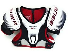 Mens Bauer Vapor 3.0 Ice Inline Roller Hockey Dynamic Flex Arch Shoulder Pads