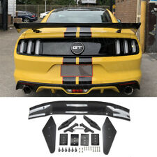 Carbon fiber apr style Rear Boot Trunk Wing Lip Spoiler Fit For Ford Mustang C