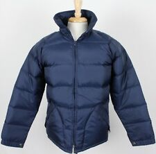 Vintage Skitique Insulated Full Zip Ski Puffer Jacket Blue Mens Small