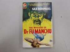 The Mystery of Dr. Fu Manchu by Sax Rohmer! (1960, WDL)! Second UK printing!