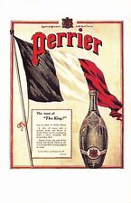 Postcard Nostalgia April 1915 PERRIER Advertisement Reproduction Card