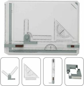 A3 Drawing Board Table Top Architects Technical Design Drafting Parallel Ruller
