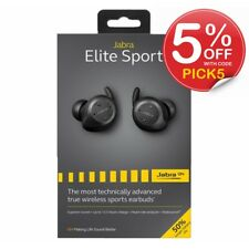 Jabra Elite Sport Bluetooth Headset Wireless Stereo Earbuds 50%Longer Battery V2