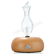 Wood & Glass Aromatherapy Essential Oils Diffuser Air Aroma Nebulizer  !