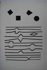 VASARELY SÉRIGRAPHIE NEW-YORK 1982 SIGNÉE CRAYON NUMÉR/135 HANDSIGNED SILKSCREEN