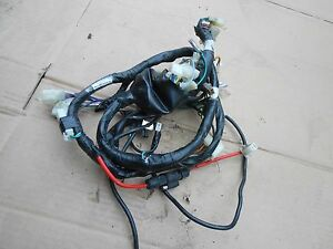 sym wolf 125 wiring loom harness to fit carb modelvgc