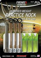 Firenock Extreme Matched Weight Practice Nock + End Cap for U3 (Pux)