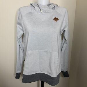 EUC Burton Durable Goods WB Heron Pullover Hoodie Sweater Mountain Emblem Sz S