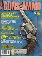 Guns & Ammo Magazine August 1979 , Colt .38 , .458 Magnum , Beretta .22 auto