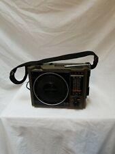 Vintage General Electric FM AM 8 Track Music System Model # 3-5507C Portable!