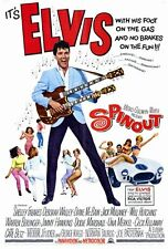 SPINOUT Movie POSTER 27x40 Elvis Presley Shelley Fabares Diane McBain Dodie