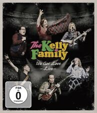 THE KELLY FAMILY - WE GOT LOVE-LIVE (BLURAY)   BLU-RAY NEU