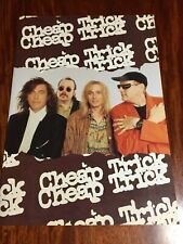 """""""Cheap Trick"""" Japan Tour 1990 Booklet From Japan F/S"""