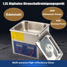 1,3L Digital Ultraschallreinigungsgerät Ultraschallreiniger Ultrasonic Cleaner`;
