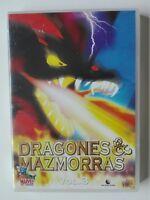 DRAGONES Y MAZMORRAS - DVD - VOL 3 - EPS 8 AL 10 - SERIE DE CULTO - SPANISH ED