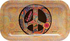 "Kashmir ""Medium"" NEW Style METAL Rolling Tray 11"" x7"" Limited edition 2"