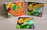 Lot of 2 Frogger and Frogger 2 Swampys  Revenge CD Rom Hasbro Game Windows 95
