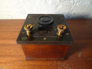 Decade Resistor Cambridge Instruments 0.1 Ohm Steps Vintage Lab Apparatus