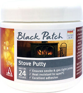 Firewise® Black Patch Stove Putty