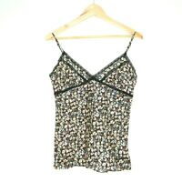 Allsaints Spitalfields Womens Tokyo Ditzy Cami Floral Camisole Top Size 12