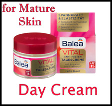 Balea Vital Age - Repair Day Face Cream 50ml With Baobab for Mature Skin.
