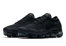 b198e373b1d4 Nike WOMEN S Air Vapormax Flyknit TRIPLE BLACK SIZE 10 BRAND NEW