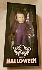 Living Dead Dolls MICHAEL MYERS Mezco BRAND NEW LDD Halloween Presents Sealed