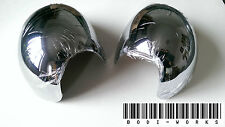 SET MK2 MINI CHROME WING MIRROR COVERS COOPER S CLUBMAN ONE JCW R56 (RHD ONLY)